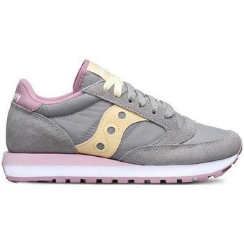 Scarpe Bambina Sneakers basse Saucony SCARPA JAZZ ORIGINAL ROSA Grigio