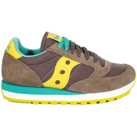 Scarpe Bambina Sneakers basse Saucony SCARPA JAZZ ORIGINAL GIALLO Grigio