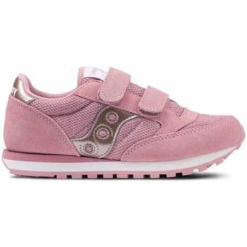 Scarpe Bambina Sneakers basse Saucony SCARPA ARGENTO Rosa