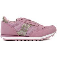 Scarpe Bambina Sneakers basse Saucony JUNIOR ARGENTO Rosa