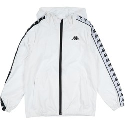 Abbigliamento Uomo Piumini Kappa GIUBBOTTO NERO Bianco