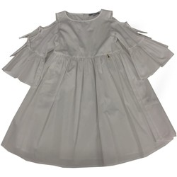 Abbigliamento Bambina Tuta jumpsuit / Salopette Patrizia Pepe ABITO RAGAZZA Bianco