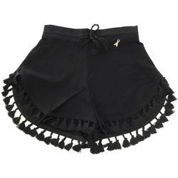 Abbigliamento Bambina Pantaloni Patrizia Pepe RAGAZZA Nero
