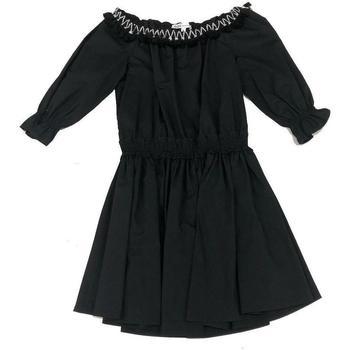 Abbigliamento Bambina Tuta jumpsuit / Salopette Patrizia Pepe ABITO RAGAZZA Nero
