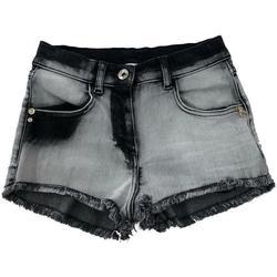 Abbigliamento Bambina Pantaloni Patrizia Pepe RAGAZZA DENIM Nero