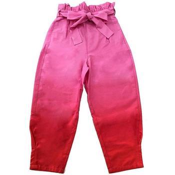 Abbigliamento Bambina Pantaloni Patrizia Pepe PANTALONE RAGAZZA Rosa