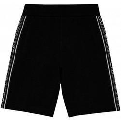 Abbigliamento Bambino Pantaloni Emporio Armani EA7 BERMUDA JUNIOR 3HBS54-BJ05Z Nero