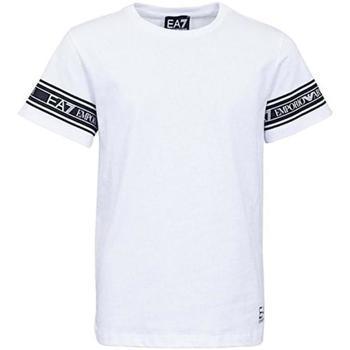 Abbigliamento Bambino T-shirt maniche corte Emporio Armani EA7 JUNIOR 3HBT57-BJT3Z Bianco