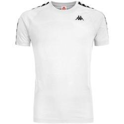 Abbigliamento Bambino T-shirt maniche corte Kappa NERO Bianco