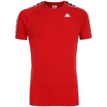 Abbigliamento Bambino T-shirt maniche corte Kappa NERO Rosso
