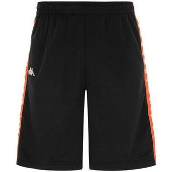 Abbigliamento Uomo Shorts / Bermuda Kappa BERMUDA ARANCIO FLUO Nero