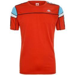 Abbigliamento Uomo T-shirt maniche corte Kappa BIANCO NERO TURCHESE Rosso