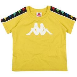 Abbigliamento Bambino T-shirt maniche corte Kappa BIANCO Giallo