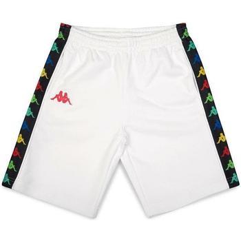 Abbigliamento Bambino Shorts / Bermuda Kappa BERMUDA ROSSO Bianco