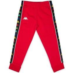 Abbigliamento Bambino Pantaloni da tuta Kappa PANTALONE Rosso