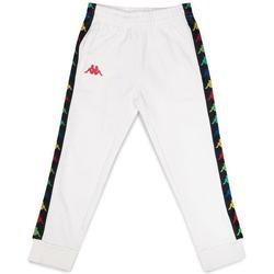 Abbigliamento Bambino Pantaloni da tuta Kappa PANTALONE ROSSO Bianco