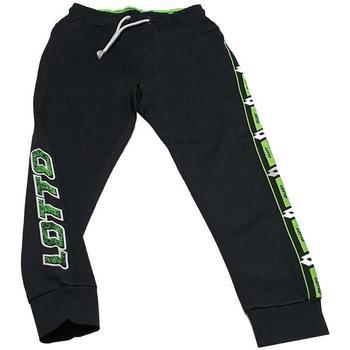 Abbigliamento Bambino Pantaloni da tuta Lotto PANT.FELPA Nero