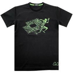 Abbigliamento Bambino T-shirt maniche corte Lotto LTSS35 Nero