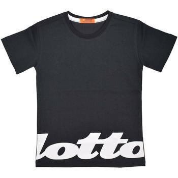 Abbigliamento Bambino T-shirt maniche corte Lotto LTSS76 Nero