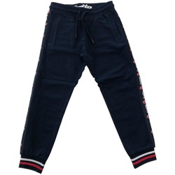 Abbigliamento Bambino Pantaloni da tuta Lotto PANT.FELPA Blu