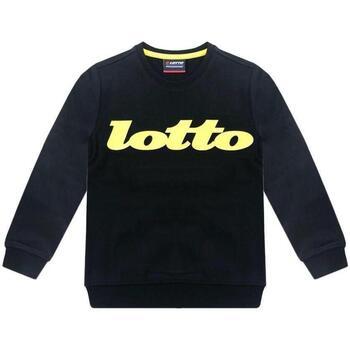 Abbigliamento Bambino Felpe Lotto FELPA Nero
