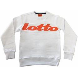 Abbigliamento Bambino Felpe Lotto FELPA ARANCIO Bianco
