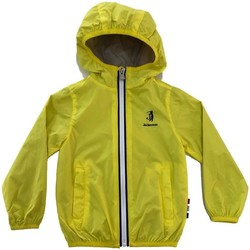 Abbigliamento Bambino giacca a vento Jeckerson GIUBBOTTO JUNIOR BLU Giallo