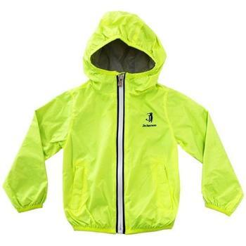 Abbigliamento Bambino giacca a vento Jeckerson GIUBBOTTO JUNIOR Verde Fluo
