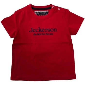 Abbigliamento Bambina T-shirt maniche corte Jeckerson BLU Rosso