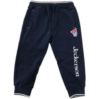 Abbigliamento Bambina Pantaloni da tuta Jeckerson PANT.FELPA Blu