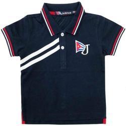 Abbigliamento Bambina Polo maniche corte Jeckerson JN1830 Blu
