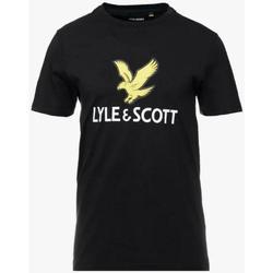 Abbigliamento Bambino T-shirt maniche corte Lyle & Scott LYLE&SCOTT Nero