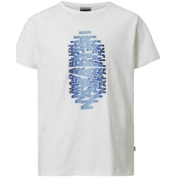 Abbigliamento Bambino T-shirt maniche corte Napapijri JUNIOR Bianco