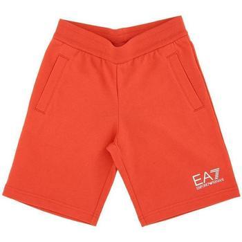 Abbigliamento Bambino Shorts / Bermuda Emporio Armani EA7 BERMUDA 3HBS51-BJ05Z Rosso