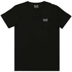 Abbigliamento Bambina T-shirt maniche corte Emporio Armani EA7 3HBT59-BJT3Z Nero