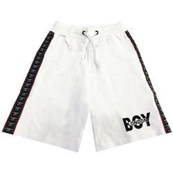 Abbigliamento Bambino Shorts / Bermuda Boy London BERMUDA RAGAZZO Bianco