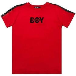 Abbigliamento Bambino T-shirt maniche corte Boy London RAGAZZO Rosso