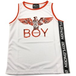 Abbigliamento Bambino Top / T-shirt senza maniche Boy London CANOTTA RAGAZZO Bianco
