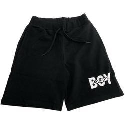 Abbigliamento Bambina Shorts / Bermuda Boy London BERMUDA RAGAZZO BMBL2101J Nero