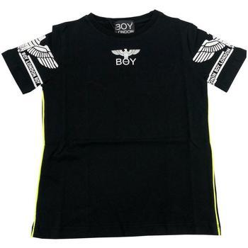 Abbigliamento Bambino T-shirt maniche corte Boy London RAGAZZO Nero