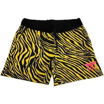Abbigliamento Bambina Shorts / Bermuda Boy London RAGAZZA GIALLO NERO Multicolore