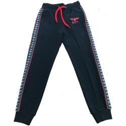 Abbigliamento Bambino Pantaloni da tuta Boy London PANT.FELPA RAGAZZO Nero