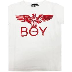 Abbigliamento Bambino T-shirt maniche corte Boy London RAGAZZO Bianco