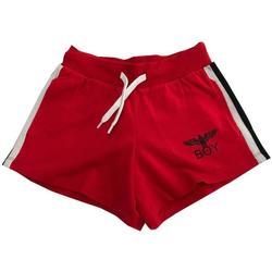 Abbigliamento Bambina Shorts / Bermuda Boy London RAGAZZA Rosso
