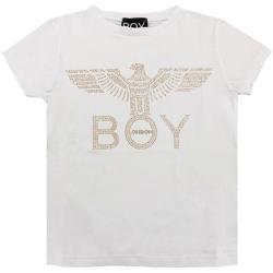 Abbigliamento Bambina T-shirt maniche corte Boy London RAGAZZA ORO Bianco