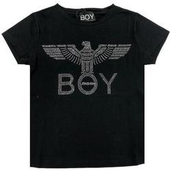Abbigliamento Bambina T-shirt maniche corte Boy London RAGAZZA Nero