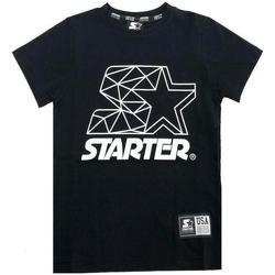 Abbigliamento Bambino T-shirt maniche corte Starter RAGAZZO Nero