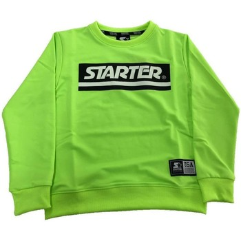 Abbigliamento Bambino Felpe Starter FELPA GIROC RAGAZZO Verde Fluo