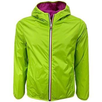 Abbigliamento Donna giacca a vento Invicta GIUBBOTTO 1547 LIME E FUXIA Verde