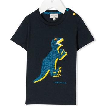 Abbigliamento Bambina T-shirt maniche corte Paul Smith 5Q10551 Blu